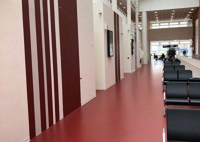 Det Nye Universitetshospital vægdekoration