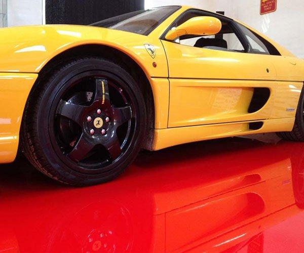 Epoxy til Ferrari Garagen