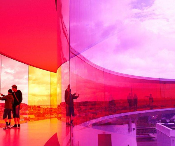 "Areo PU Comfort - ARoS ""Your Rainbow Panorama"""