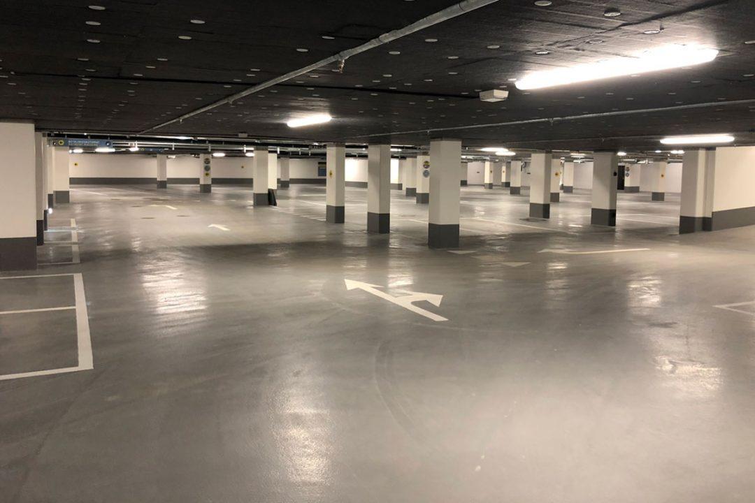 Parkeringsanlæg  Europaskolen Carlsberg Byen