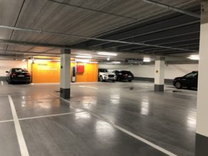 belægninger i parkeringshus