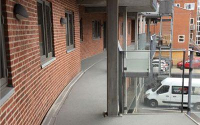 Akrylbelægning til altaner og altangange i Søhuset