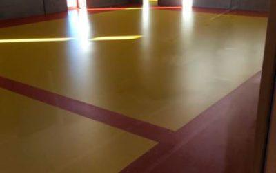 PU-gulv hos Ny Rosenvænget skole, Viborg