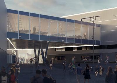 Ny Lounge i ishockeyarena, Esbjerg