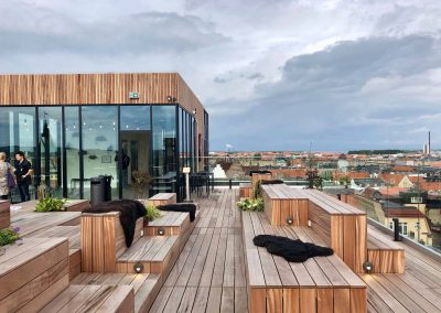 Ny cafe Rooftop Salling – Aarhus C