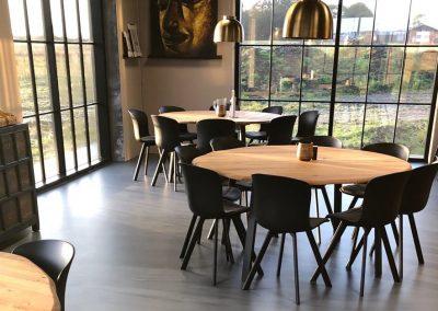 epoxy gulve hos Sport24 kantine